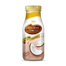 Tropical 280ml Glass Bottle Ice Coffee Coconut Milk Creamer