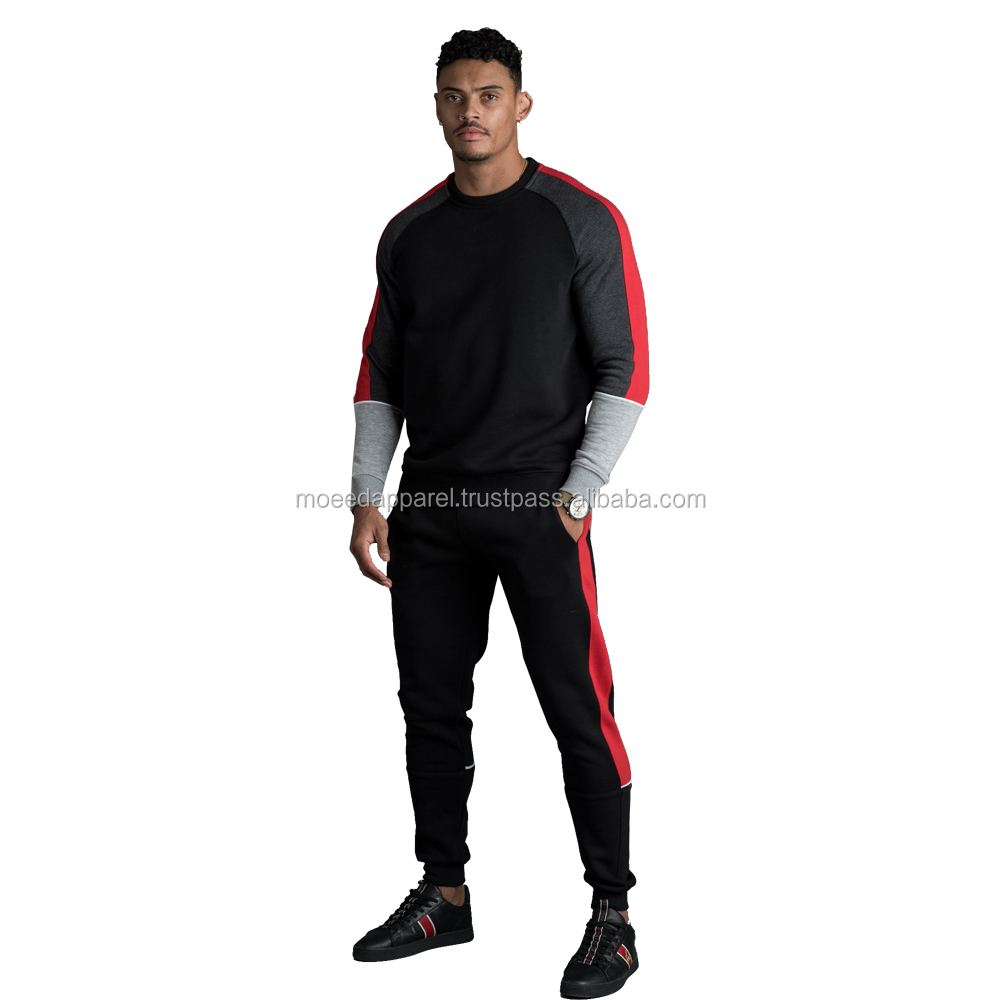 Gym Joggers Training Slim Fitted Mens Plain jogging suit design your own logo Tracksuit