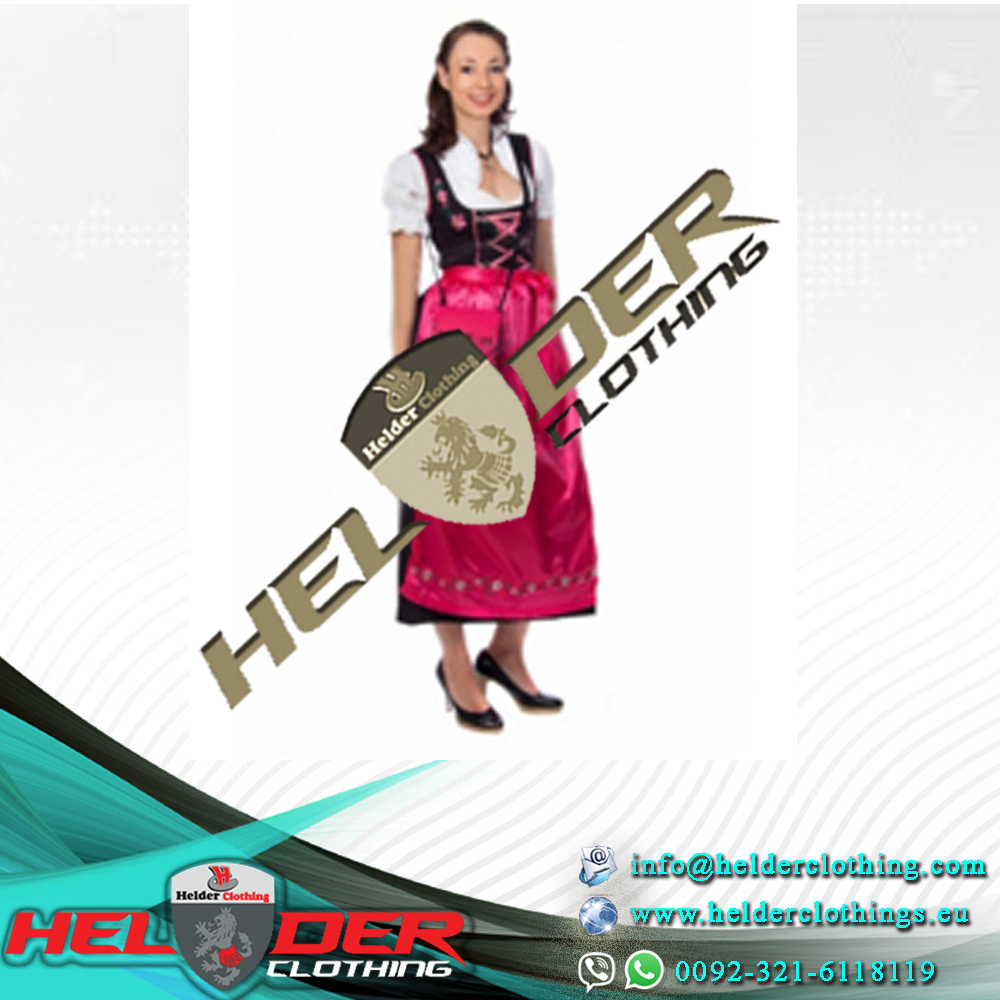 Unique Style Ladies Dirndl Dress 70cm / Latest Design German Bavarian Springfest Oktoberfest / Trachten Dirndl Ladies Costume