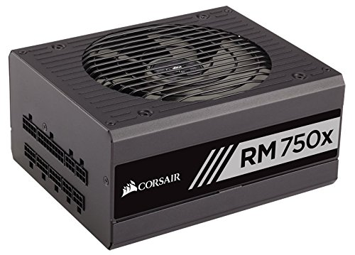 Cor_ sair RMx Series, RM750x, 750W, Fully Modular Power Supply, 80 PLUS Gold Certified