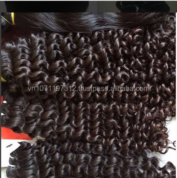 Expression Brazilian Human Curly Hair Weave,Brazilian Hair In Vietnam,Natural Color Natural