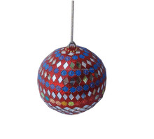 LAC DECORATION CHRISTMAS HANGING BALL
