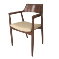 Dining room furniture modern products bent backrest wooden chair