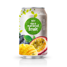 330ml Aluminum can Good Taste Mix Fruit Drink