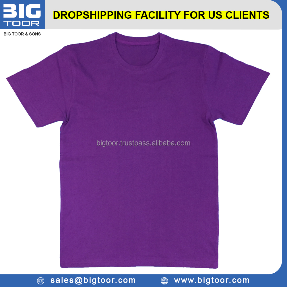 OEM 100% Cotton Factory Price Plain T Shirts For Distributors, Retailers, Importers, Wholesalers