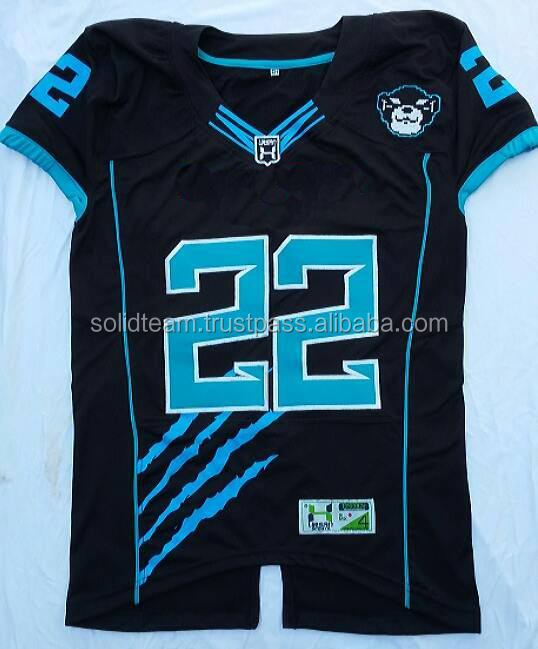 Factory Price Custom Striped Football Jersey from Pakistan