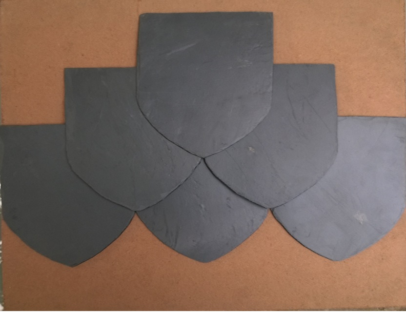 Viet Nam hot sale Black slate stone roof & wall tile