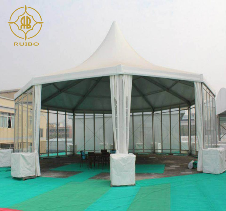 Marquee tent of glamping tents