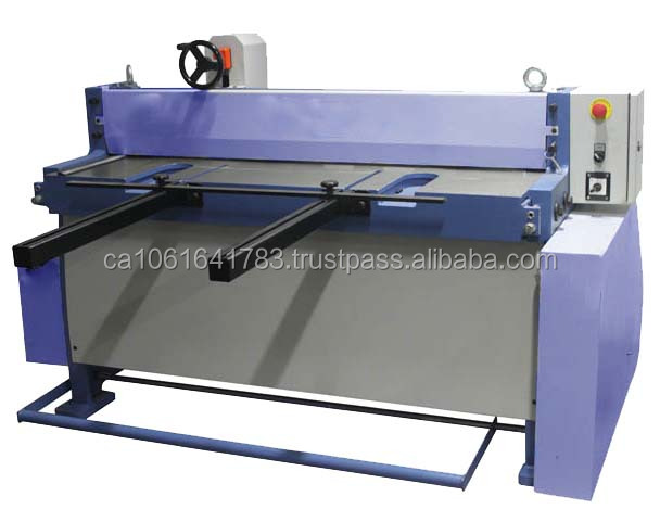 Semi-Automatic Guillotine Shear