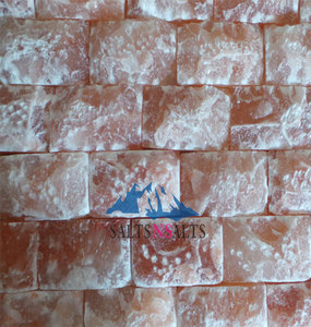 Himalayan Salt Bricks Wall for Salt Room| salt bricks