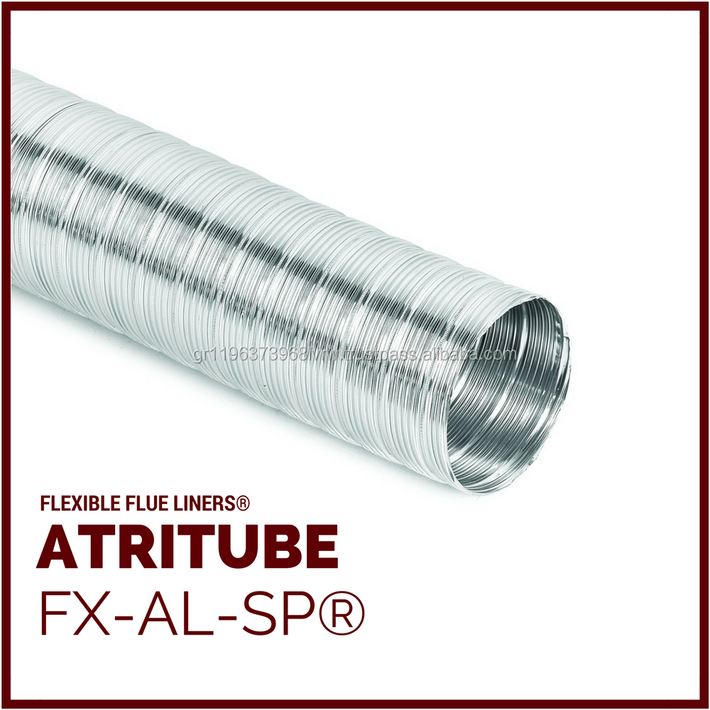 ATRITUBE - Flexible Chimney Flue Liner Products - FX-AL-SP
