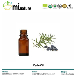 Widely Selling Cade Oil for Bulk Supply