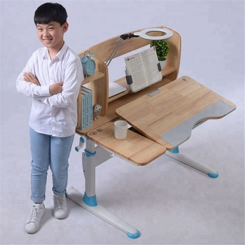 GMYD Height Adjustable Study Desk Children Study Table
