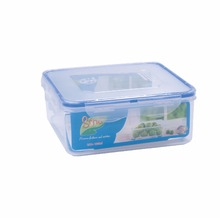 Plastic rectangle Airtight Food storage containers/box with locking lid/ BPA Free, Microwave safe