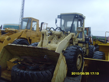 beautiful and tidy used Komatsu 470 wheel loader made in Japan
