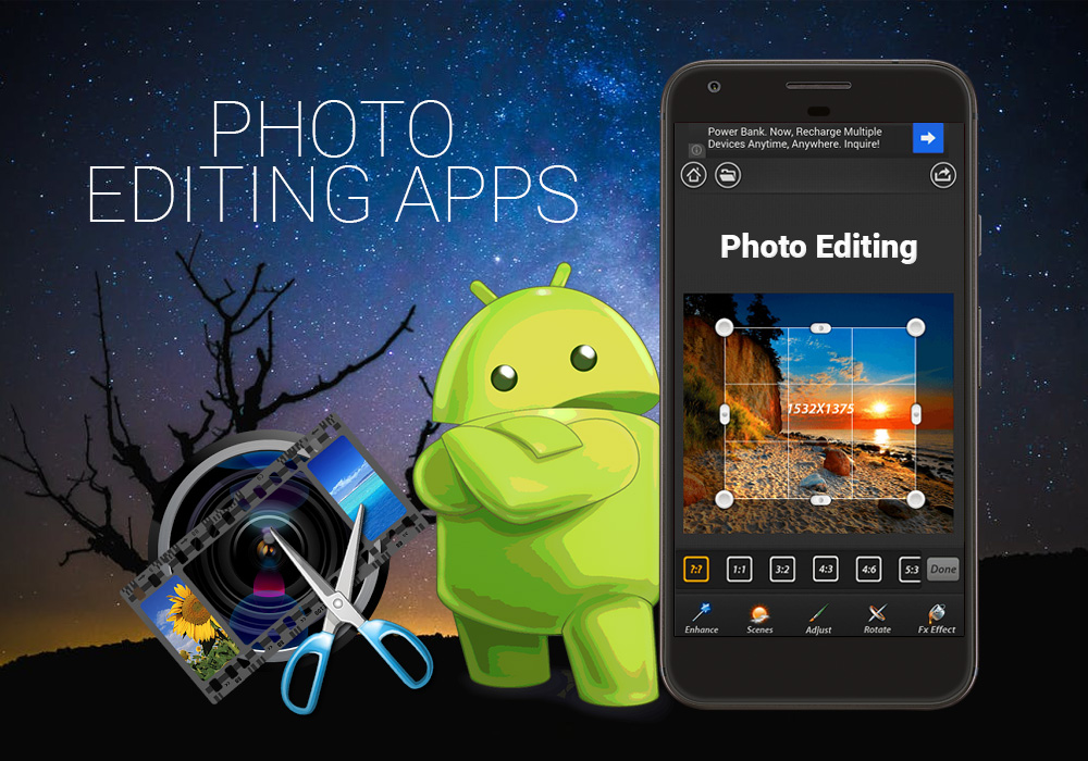 Photo Editing Android App Development Services Provider Company