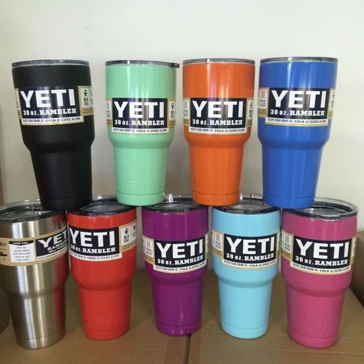 ALL NEw Yetis 30 Oz Tumbler
