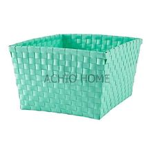 ACHIO New plastic weave basket, handy baskets, plastic baskets