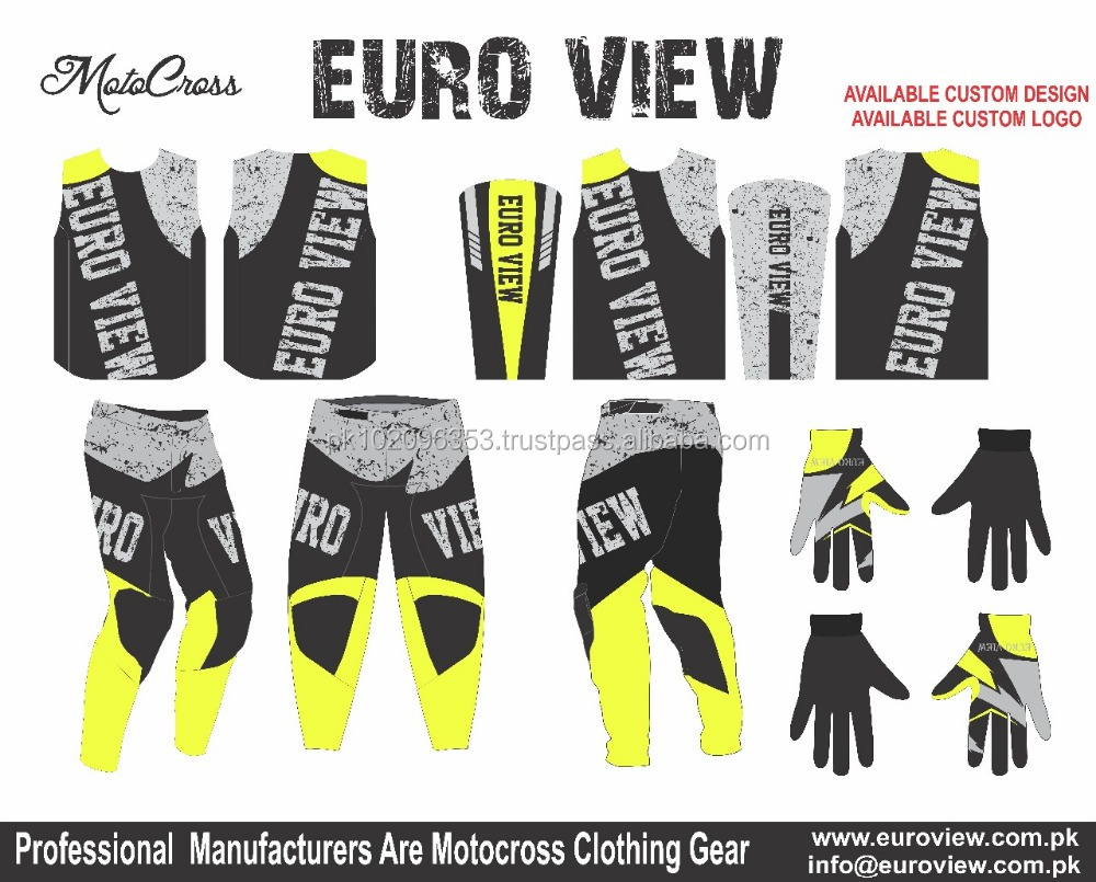 Youth Pants - MX ATV BMX Off-Road Dirt Team BMX Racing Gear Jersey & Pants ATV / BMX / ATV / Pant Jersey Custom Design BMX Bike