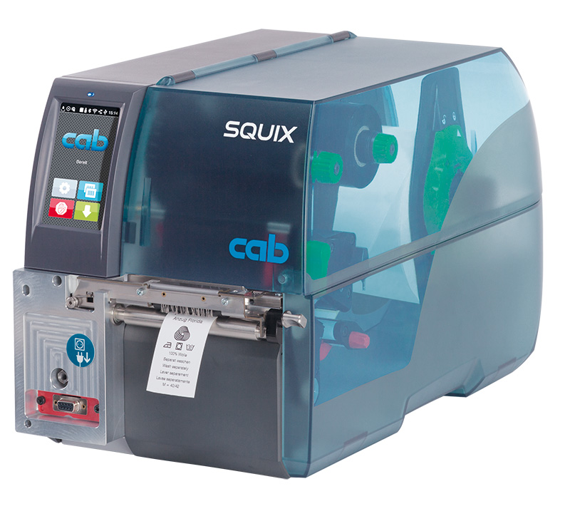 CAB SQUIX4/300MT Barcode Label Printer