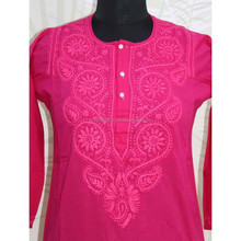 pakistan digital printed kurti, images of kurti designs, stylish tail cut pattern kurti
