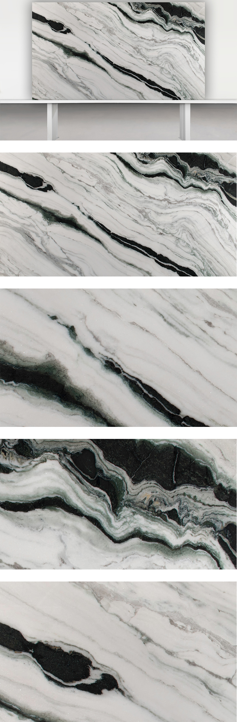 Panda White Marble for Flooring tile and Wall tile