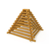 Playground Accessories Wooden Climb Pyramid Mae-071