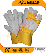 Goat skin antistatic working labor hand gloves