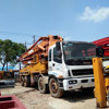 SY5380THB 42m Sany Isuzu Used Concrete Pump Truck With Four Section Boom Pump