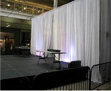 Event blackout curtain wedding drapery theatre drapery