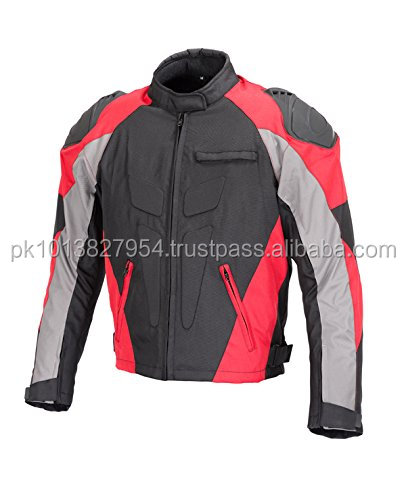 Men Motorcycle Four Season Textile Race Jacket CE Protection Men's Street Motorcycle Jackets