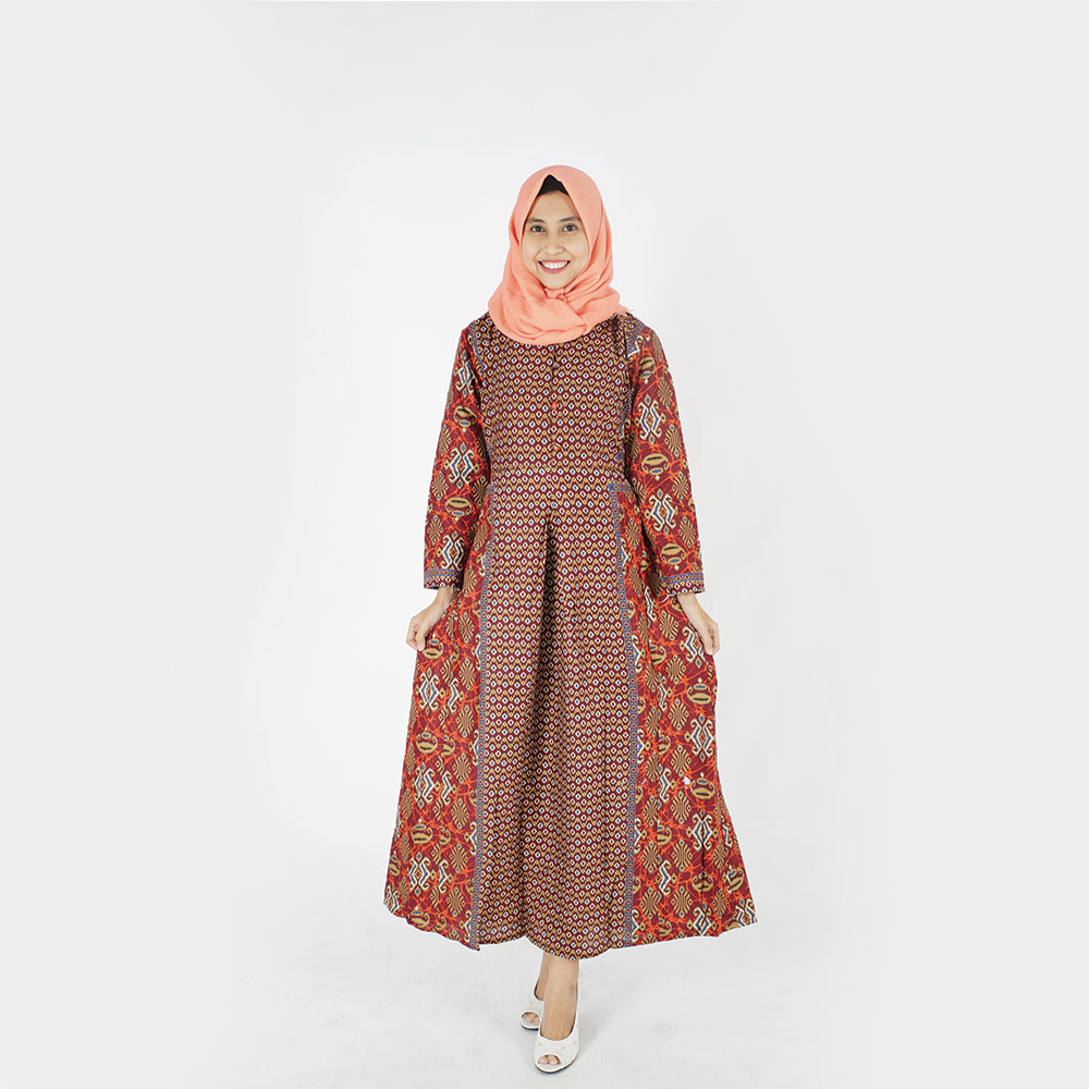 Simple Style Modern Design Long Dres Hijab Made In Indonesia