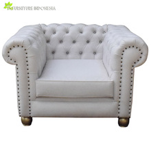 Modern Designs Leather Sectional Sofa Teak Wood Alibaba furniture 1 Seater sets Indonesia Top Supplier