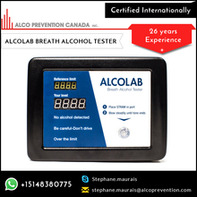 Easy Calibration Breath Test Alcohol Breathalyzer at Bulk Wholesale Rate
