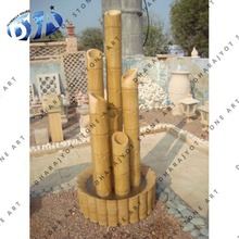 sandstone bamboo water fountain