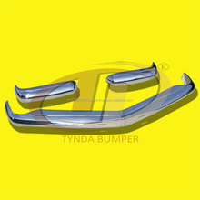Mercedes Pagode W113 models 230SL 250SL 280SL (1963 -1971) bumpers stainless steel polished discount 5%
