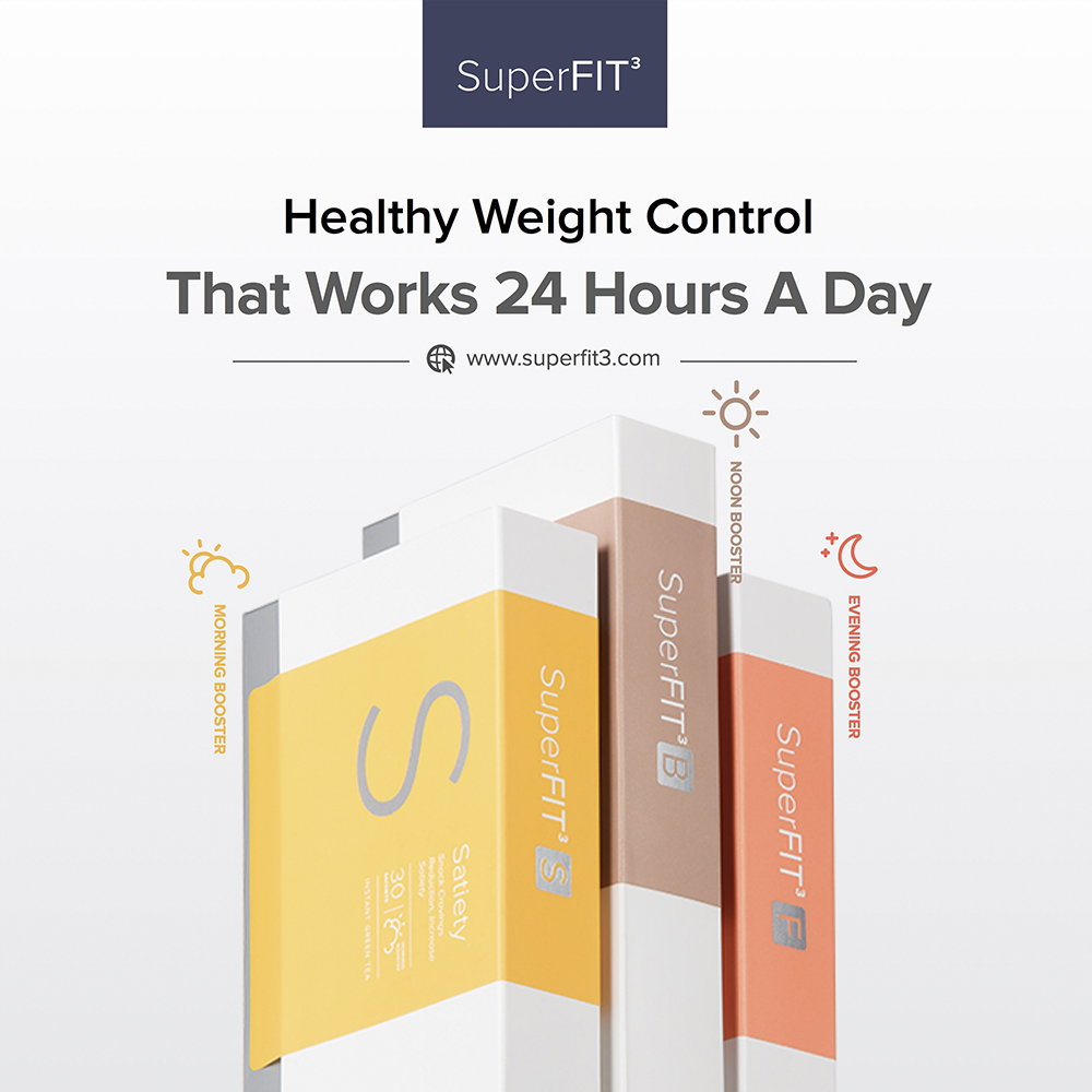 SuperFIT: Complete Weight Loss 3-Step Diet Plan Slimming Program