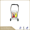 latest design cheap Household stainless steel small wheel Grey Shopping cart trolley