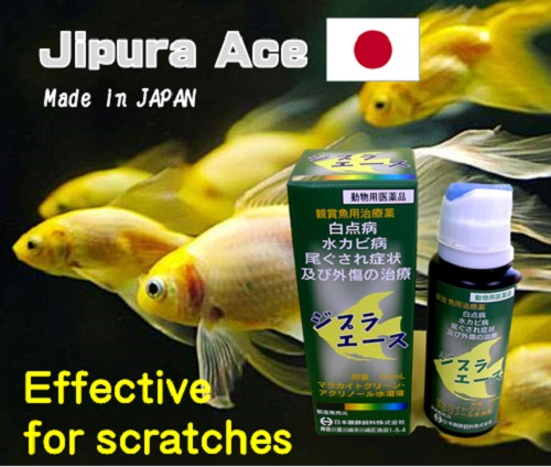 Japan first combination of acrinol and malachite green Jipura Ace for fish medicine