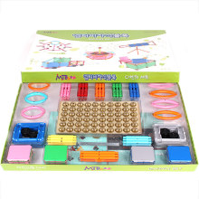 [Mathtime] Mathematics Teaching Aids Education Creative Learning Toy Magnetic Blocks Da Vinci Set