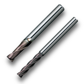 High-performance and Popular End mills, MSE230/430 with functions made in Japan
