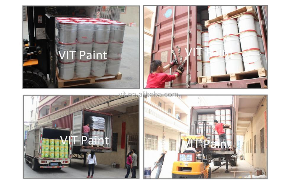 VIT gold flexible crack resistance exterior wall paint/ asian paints emulsion price list/ nano coating