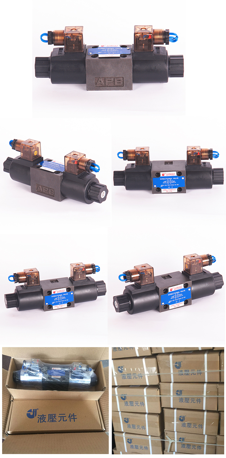 DSG 03 3C6 Vickers Yuken hydraulic solenoid coil armature operated hydraulic directional valve
