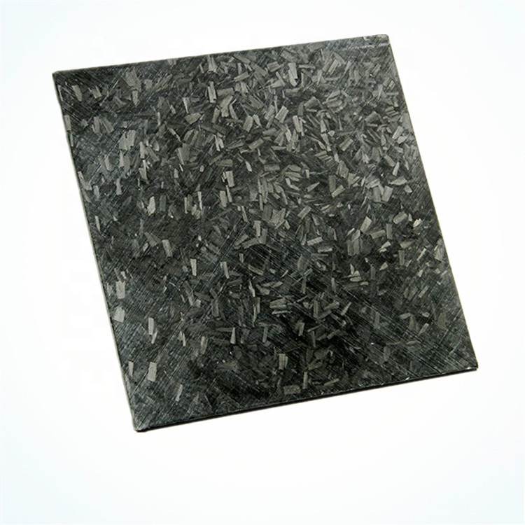Forged <strong>carbon</strong> fiber composite board mixed and disorderly texture <strong>carbon</strong> fiber steel sheet