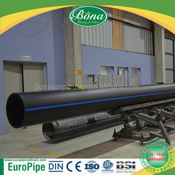 Plumbing materials Attractive design hdpe pipe fitting DN50 - DN 500mm
