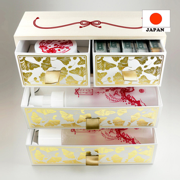 Fashionable and Effective High-grade kyo minori skin care set in artisctic made in Japan