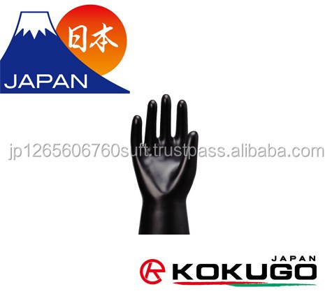 Various materials of long sleeve rubber gloves for glovebox