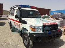 TOYOTA LANDCRUISER GRJ 78 4X4 MOBILE AMBULANCE