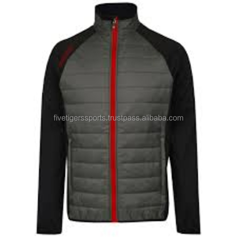 cheap windbreaker golf jacket for men and women with printed full sleeve and embroider wholesale for sports polyester wear