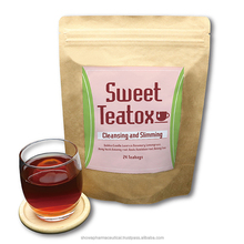 Detox tea slimming weight loss skinny diet fit benefit of sweet teatox made in japan OEM available
